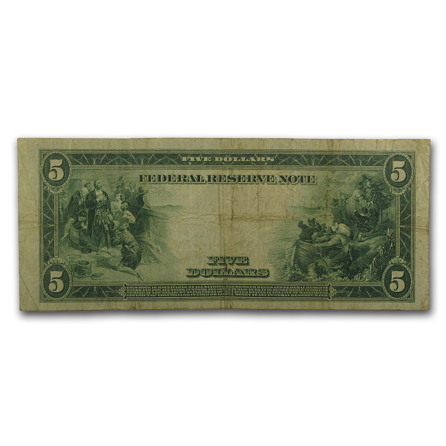 ... San Francisco) $5 FRN VF | Federal Reserve Notes (Large Size) | APMEX
