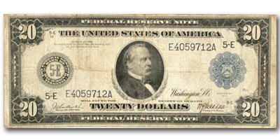 1914 (E-Richmond) $20 FRN Fine