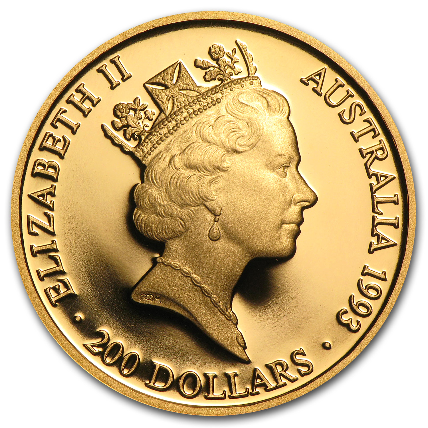 1993 Australia Proof Gold $200 Olympics