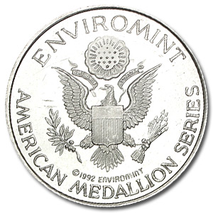 1 oz Silver Round - American Medallion Series (Indian)