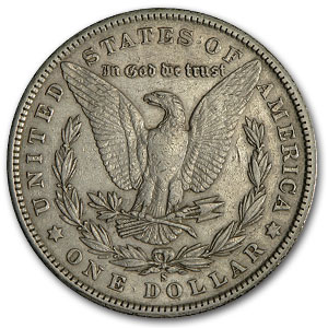 1901-S Morgan Dollar XF-45