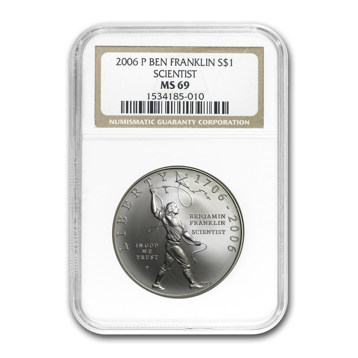 U.S. Mint $1 Silver Commemorative MS/PF-69 NGC
