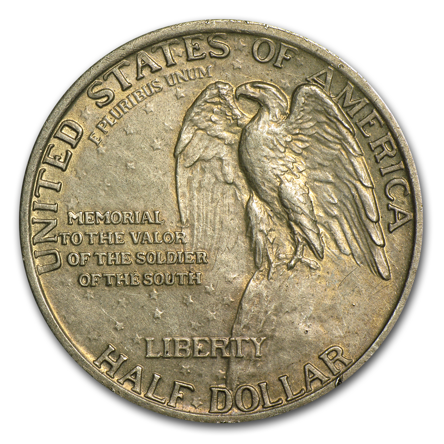 1925 Stone Mountain Memorial Half Dollar AU