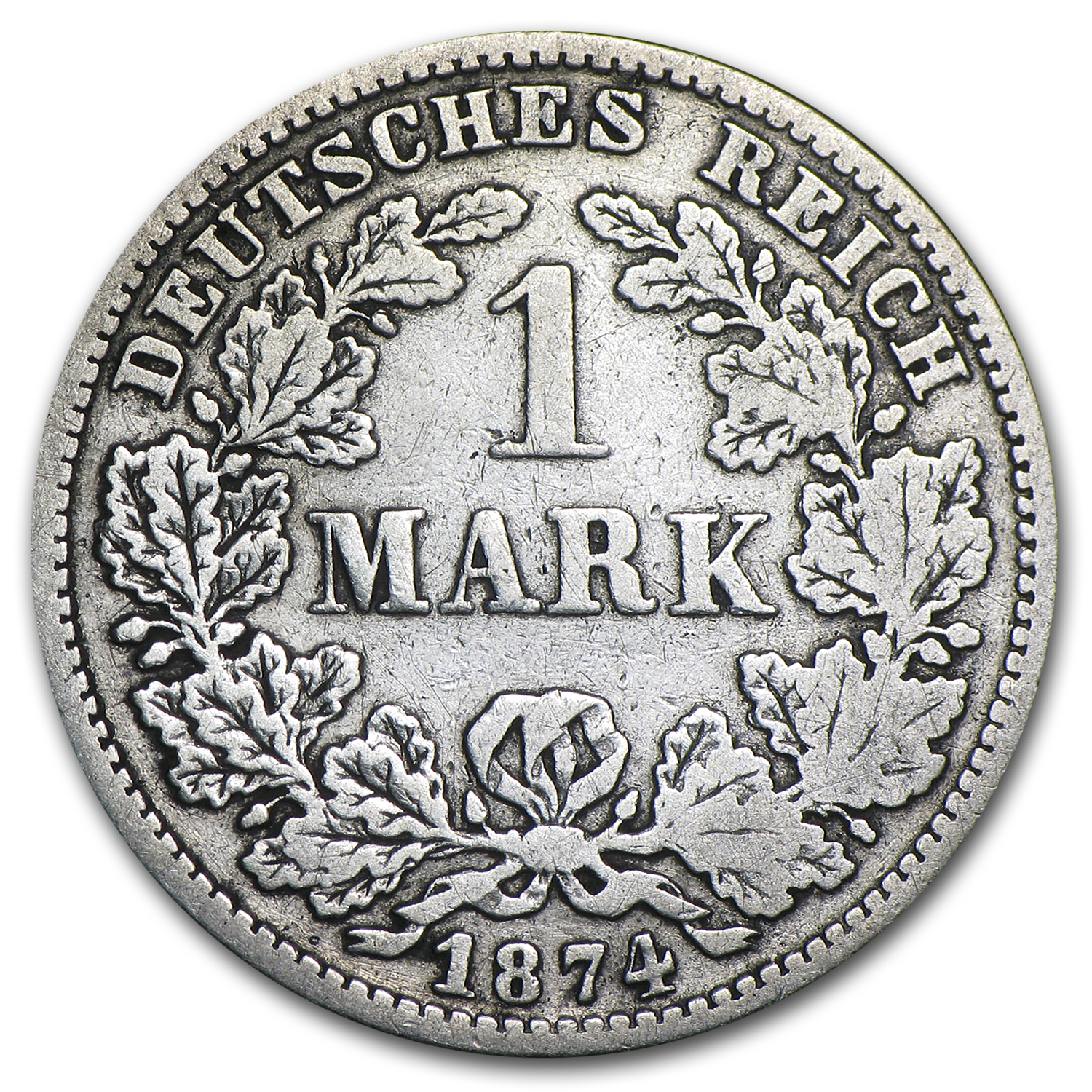 1874-E Germany Silver Mark VF