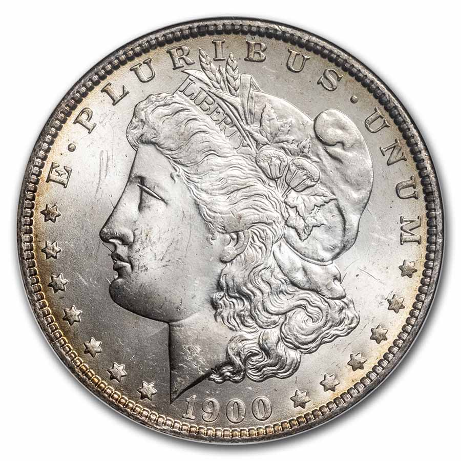 1900-O/CC Morgan Dollar MS-64 NGC (Top-100)