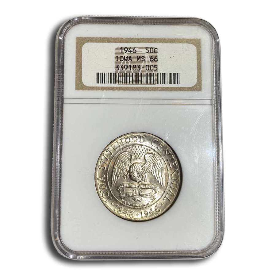 1946 Iowa Centennial Half Dollar MS-66 NGC