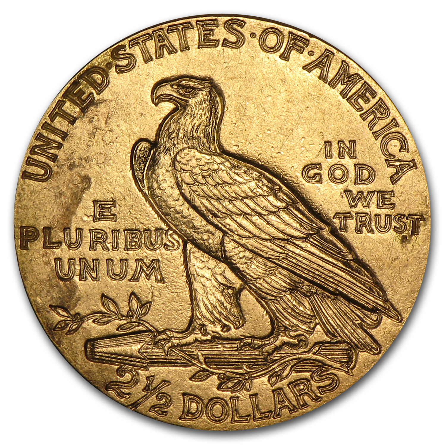 $2.50 Indian Gold Quarter Eagle Extra Fine