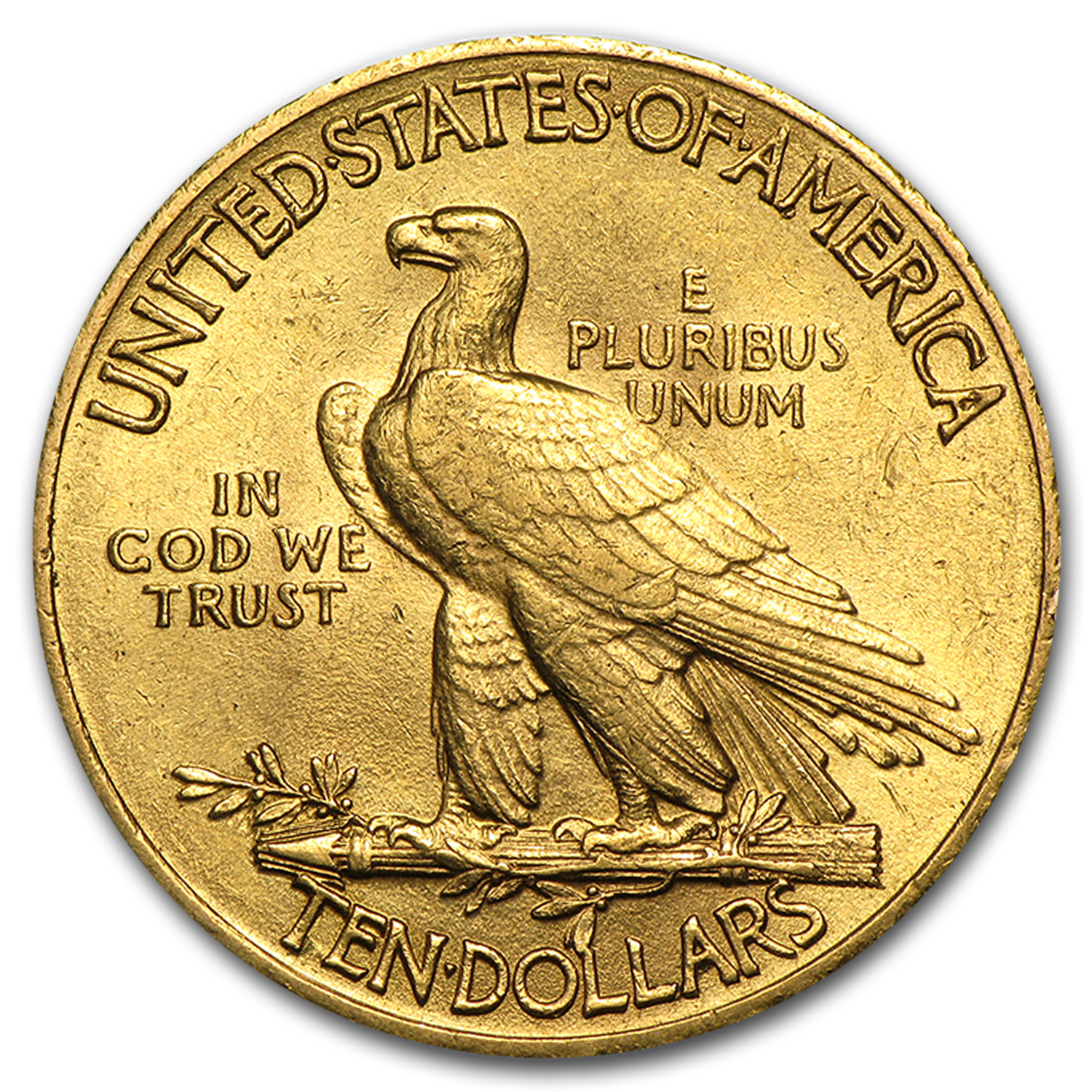 $10 Indian Gold Eagle - Almost Uncirculated