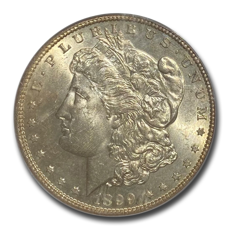 1899-S Morgan Dollar MS-62 PCGS
