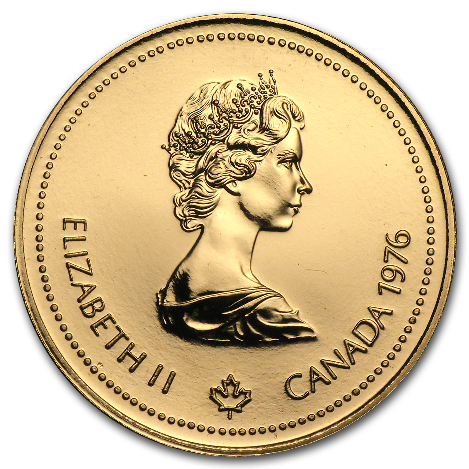 Canada 1976 $100 Gold Proof Olympics (Abrasions)