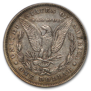 1878 Morgan Dollar - 8 Tailfeather XF-40 PCGS VAM-9 Top-100