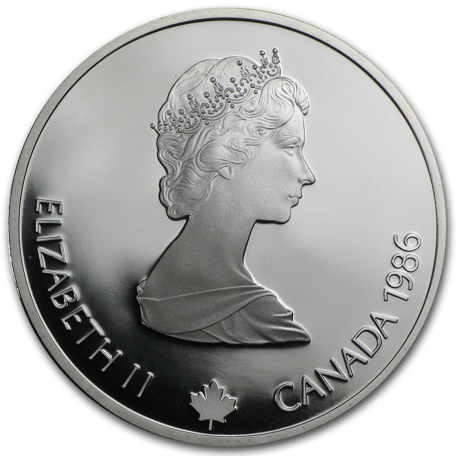 1988 1 oz Silver $20 Canadian Olympic Proof Coins