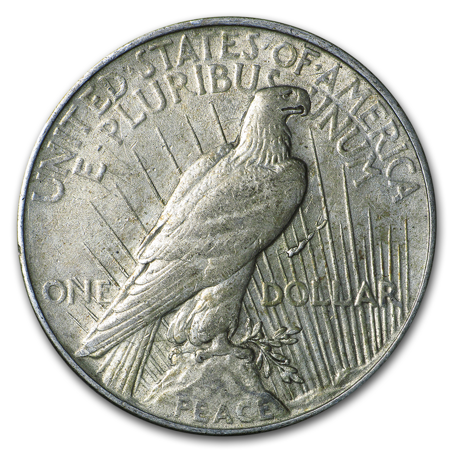 1922 Peace Dollar XF (VAM-1F, Field Die Break, Top-50)