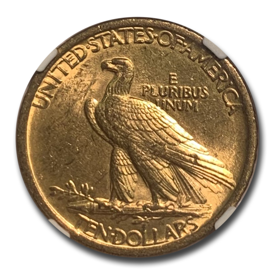 1907 $10 Indian Gold Eagle MS-62 NGC