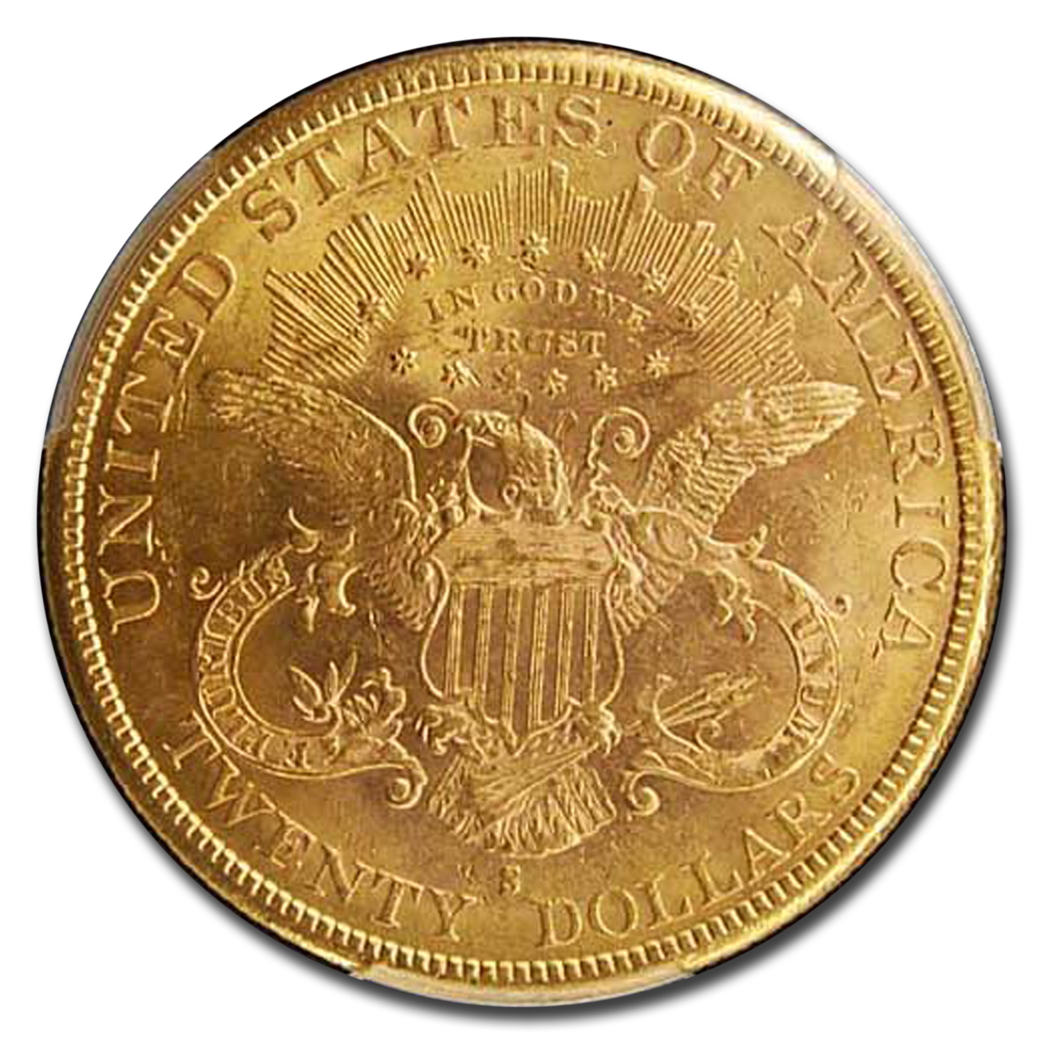 1883-S $20 Liberty Gold Double Eagle MS-61 PCGS