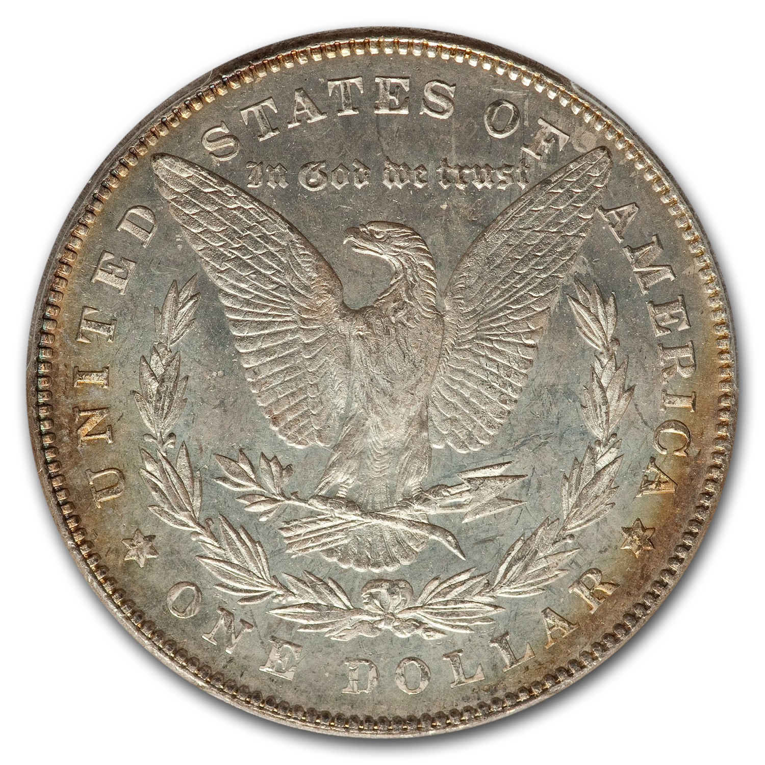 1878 Morgan Dollar 7 TF Rev of 78 MS-63 DMPL PCGS