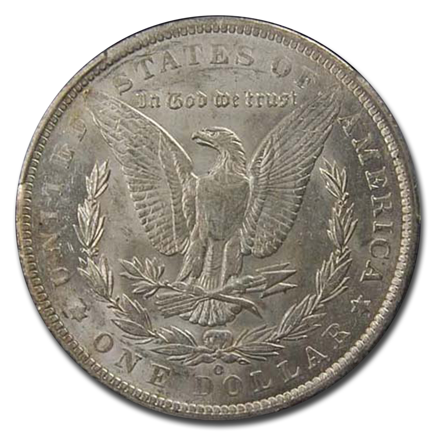 1886-O Morgan Dollar AU-58 PCGS