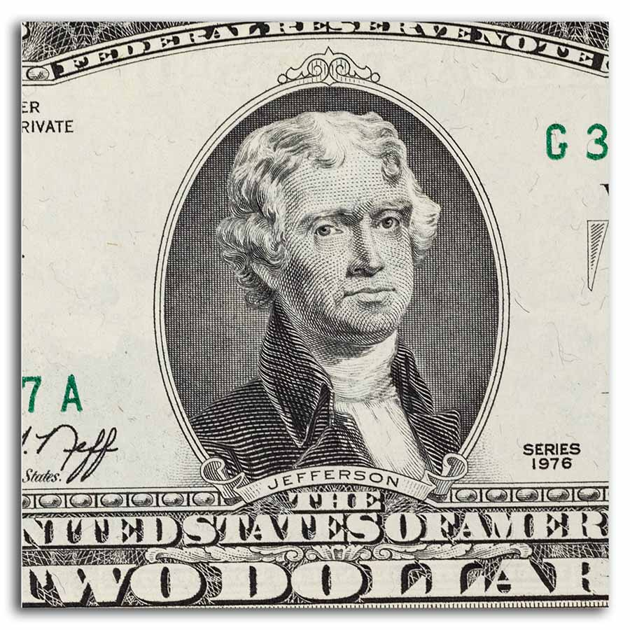 1976 (G-Chicago) $2.00 FRN (Crisp Uncirculated)