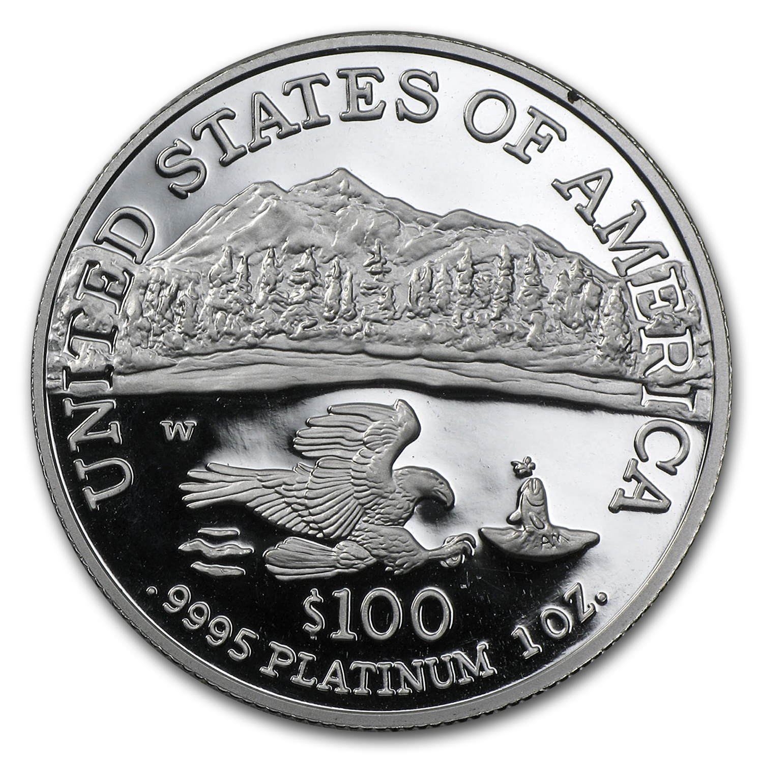 1 oz Proof Platinum American Eagle (Random Year, Capsule Only)