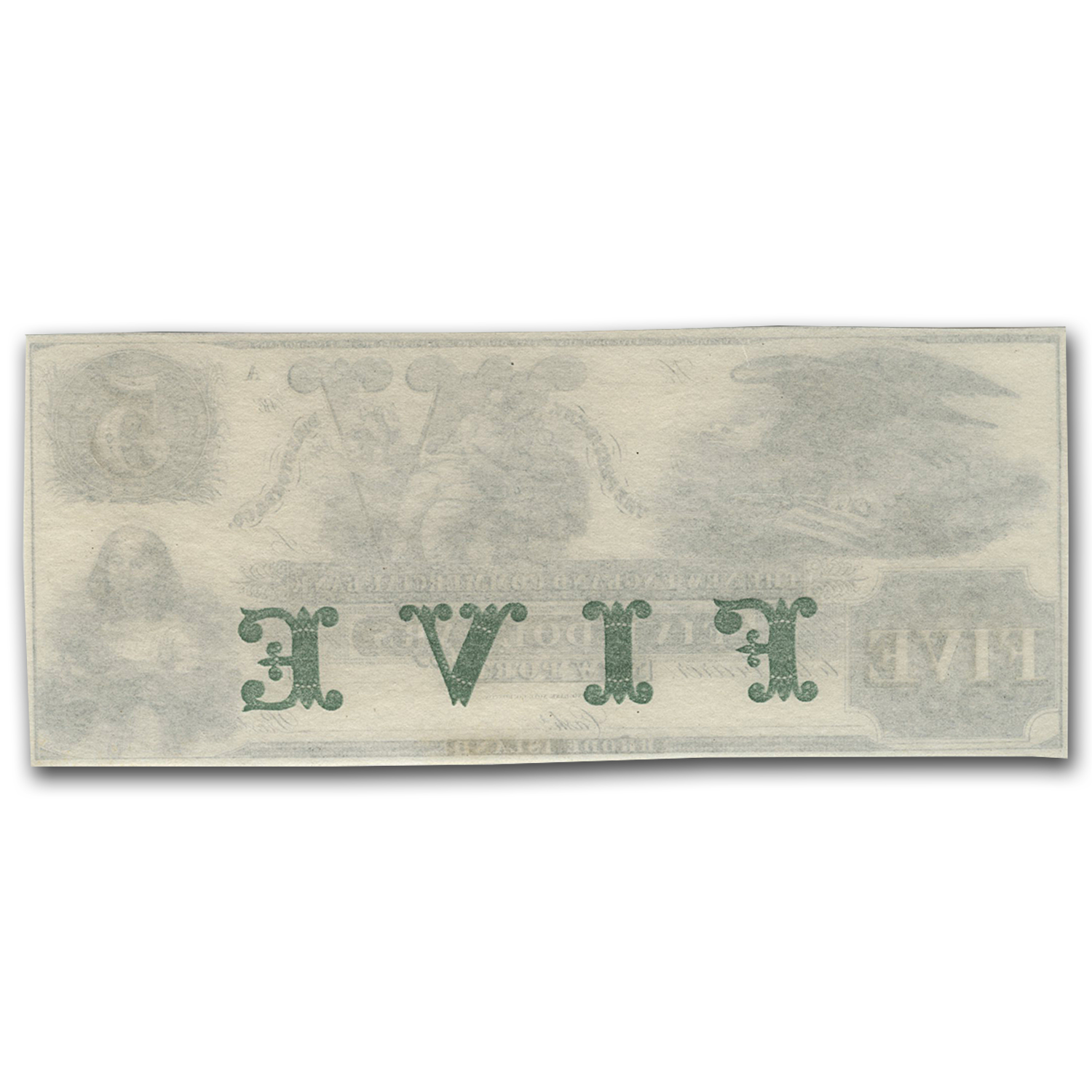 18__ New England Commercial Bank Newport, RI $5 RI-155 CU (G76b)