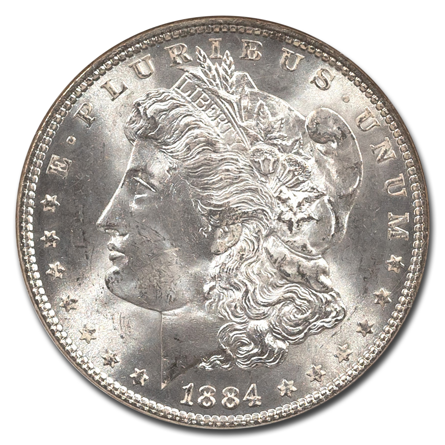 1884 Morgan Dollar MS-65 NGC