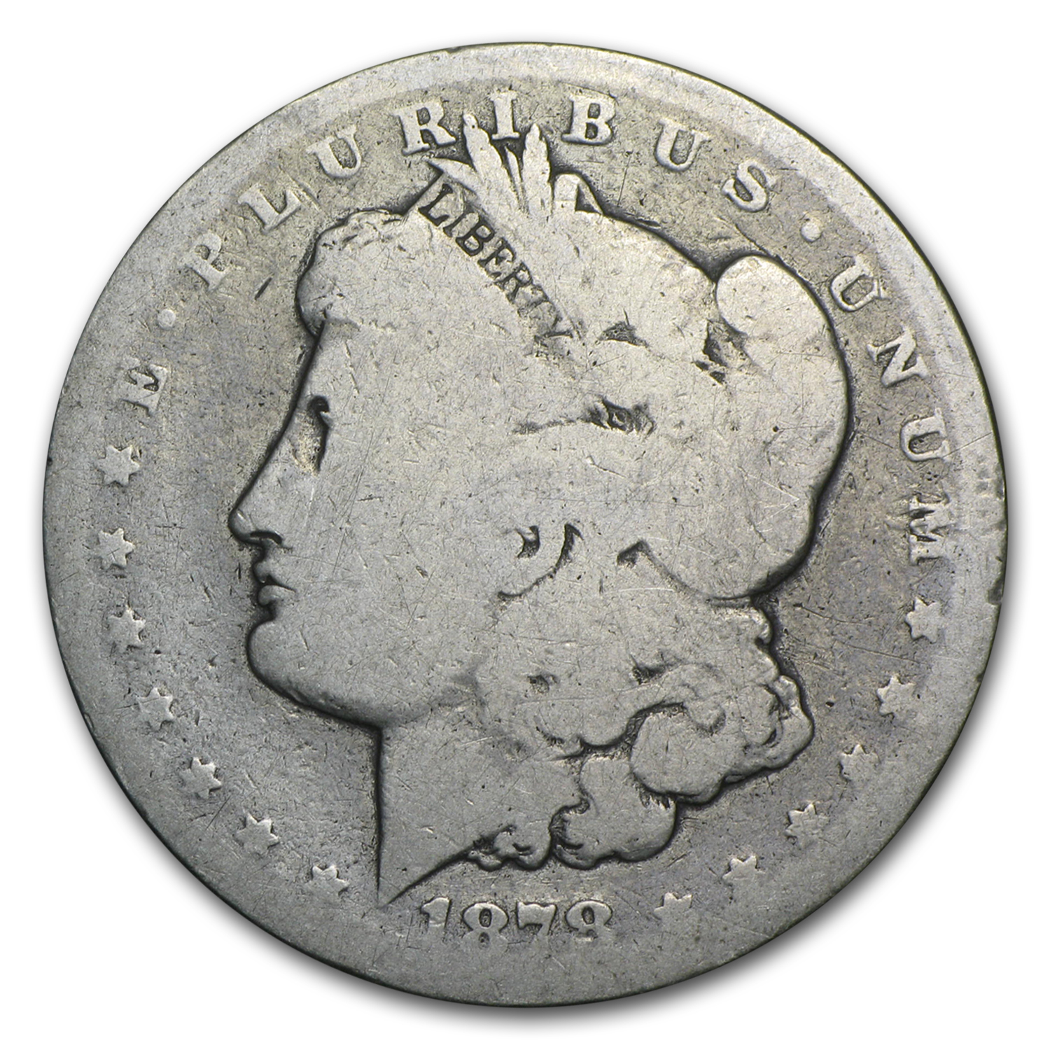 1878-CC Morgan Dollar AG