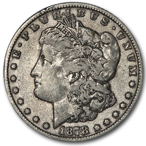 1878-CC Morgan Dollar VF (VAM-6, Doubled Obverse, Top-100)