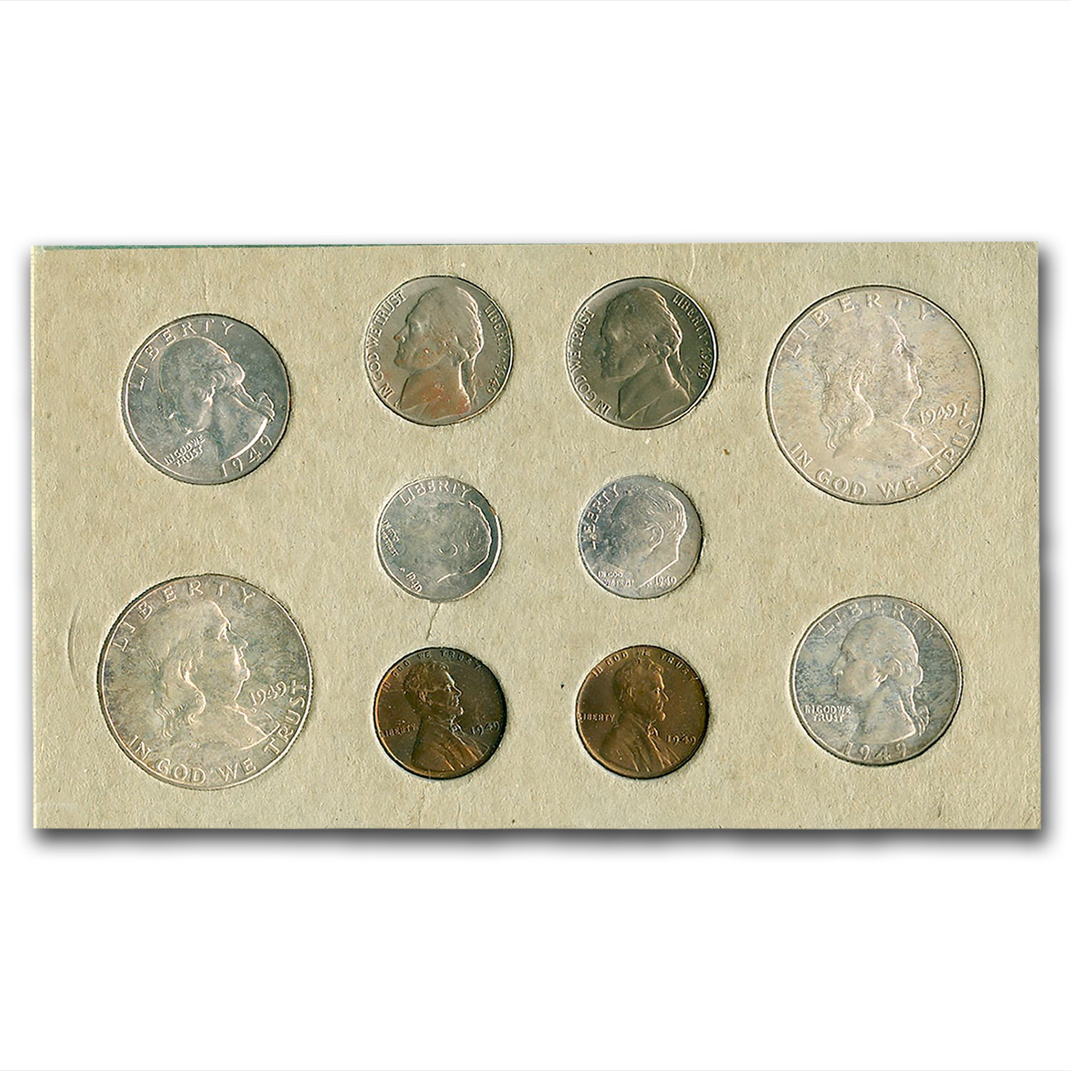 1949 U.S. Double Mint Set