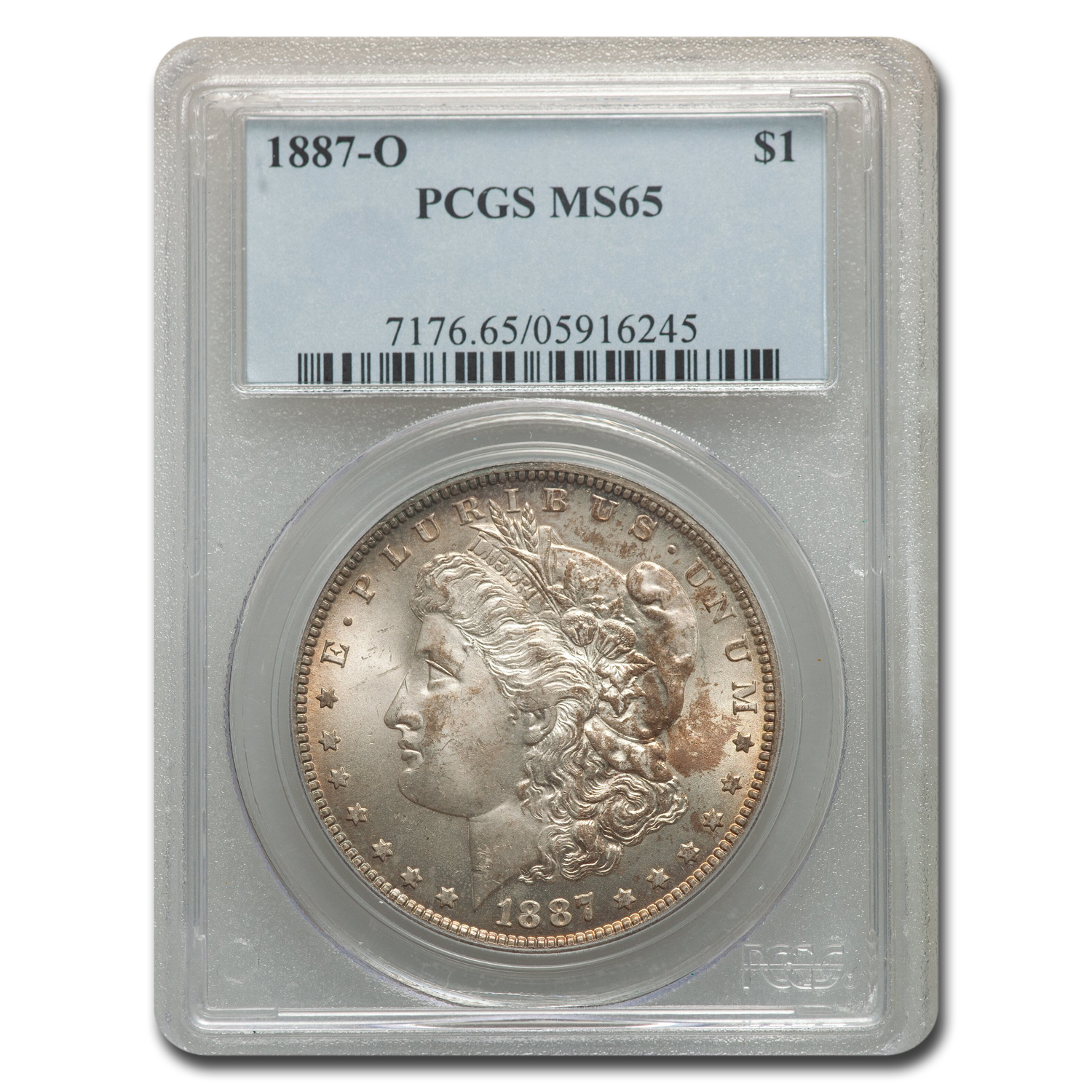 1887-O Morgan Dollar MS-65 PCGS