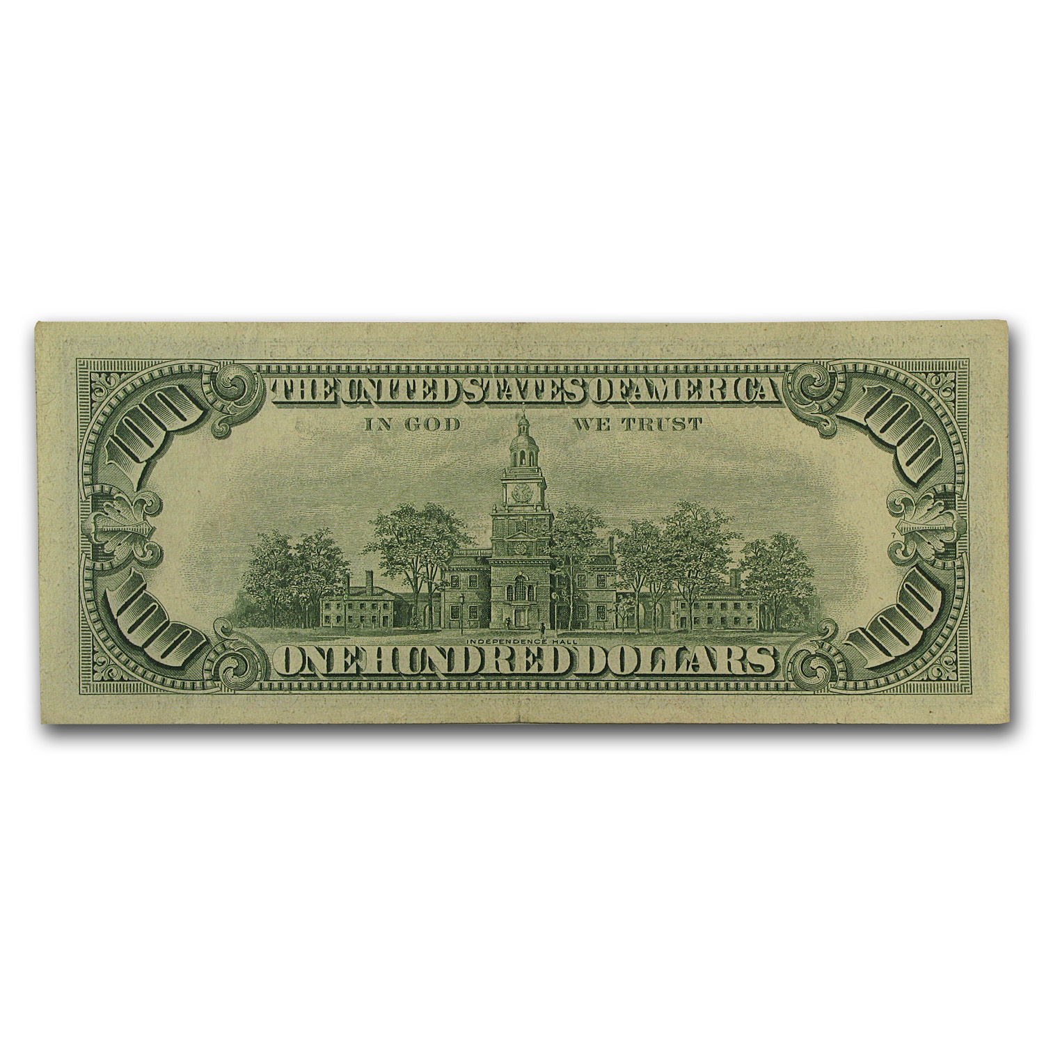 1966 $100 U. S. Note Red Seal XF
