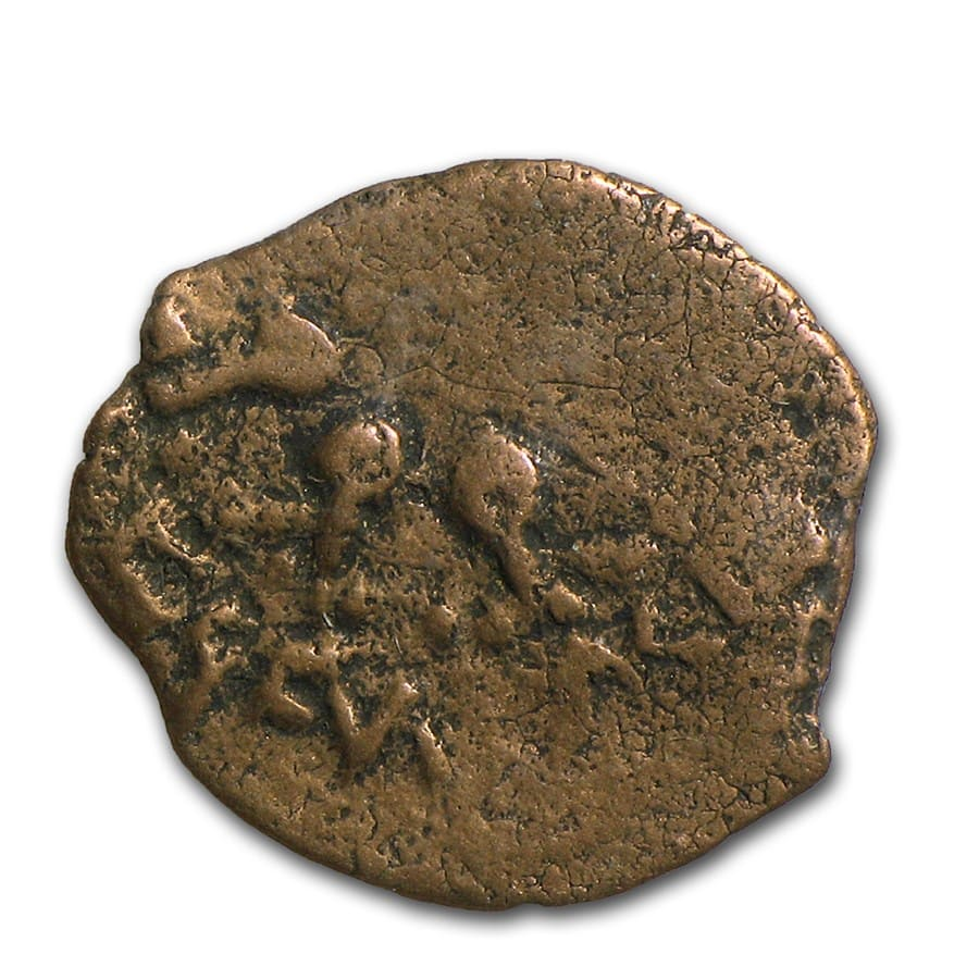 Widow's Mite 103 - 76 BC In Standard Folder