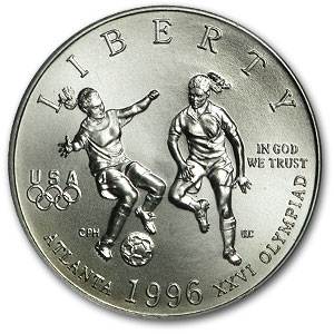 1996-S Soccer Half Dollar Clad Commemorative MS-69 PCGS
