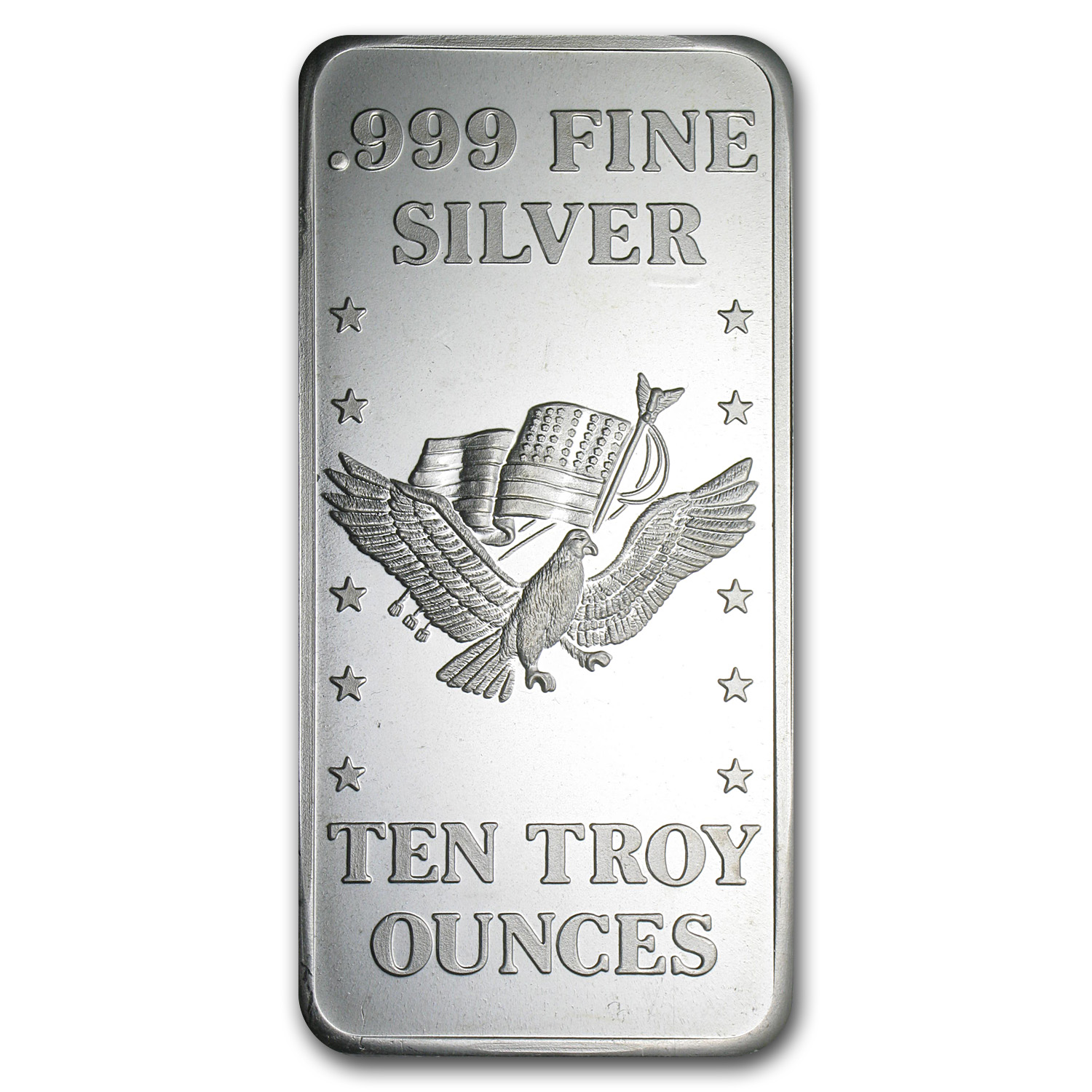 10 oz Silver Bar - U.S. Assay Office