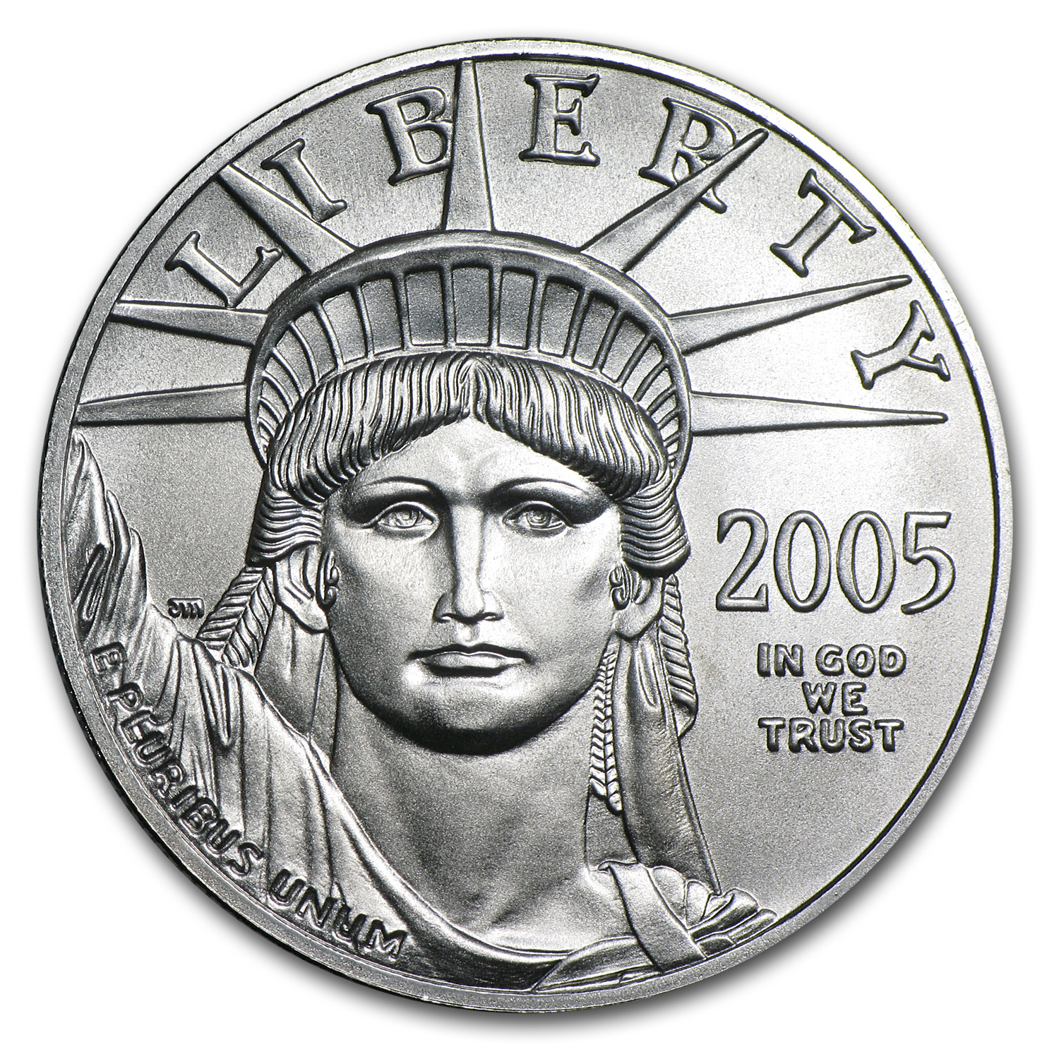 2005 1 oz Platinum American Eagle BU