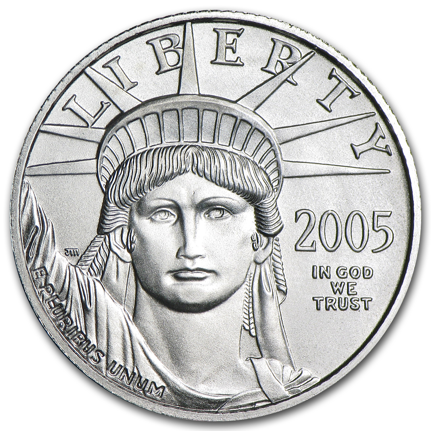 2005 1/4 oz Platinum American Eagle BU