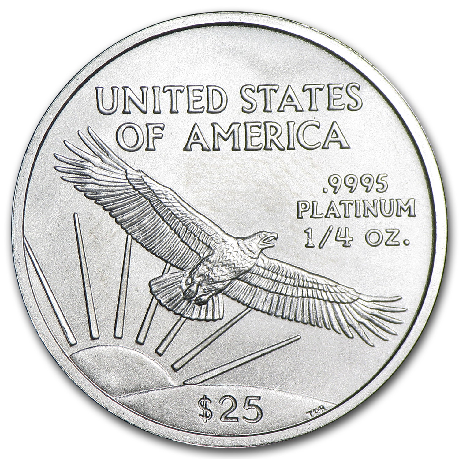 2005 1/4 oz Platinum American Eagle - Brilliant Uncirculated