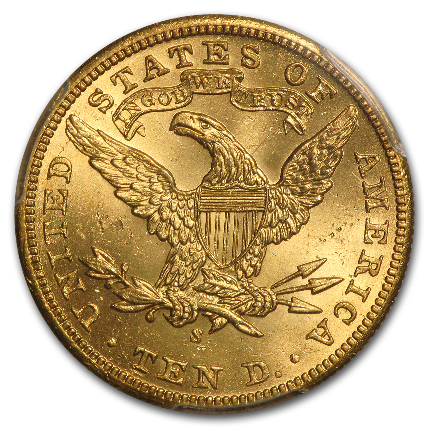 $10 Liberty Gold Eagle MS-65 PCGS (Random)