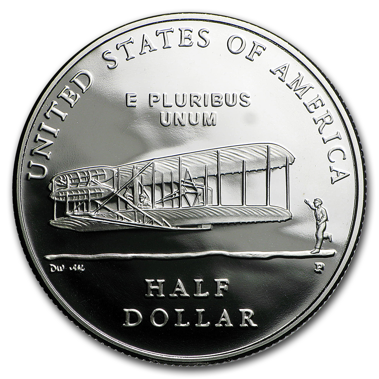 2003-P 1st Flight Cent'nial 1/2 Dollar Clad Commem BU (Capsule)