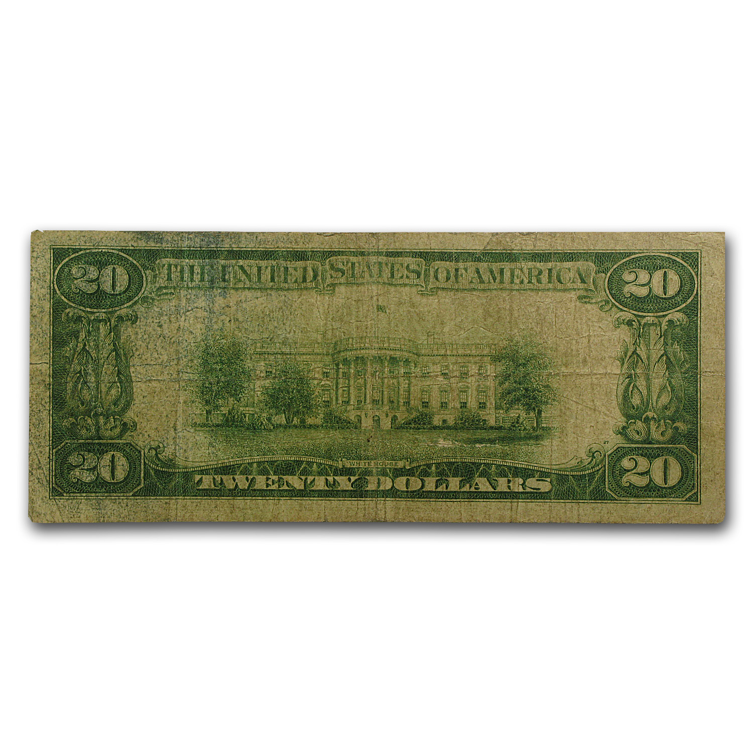 1928 $20 Gold Certificate (Very Good)