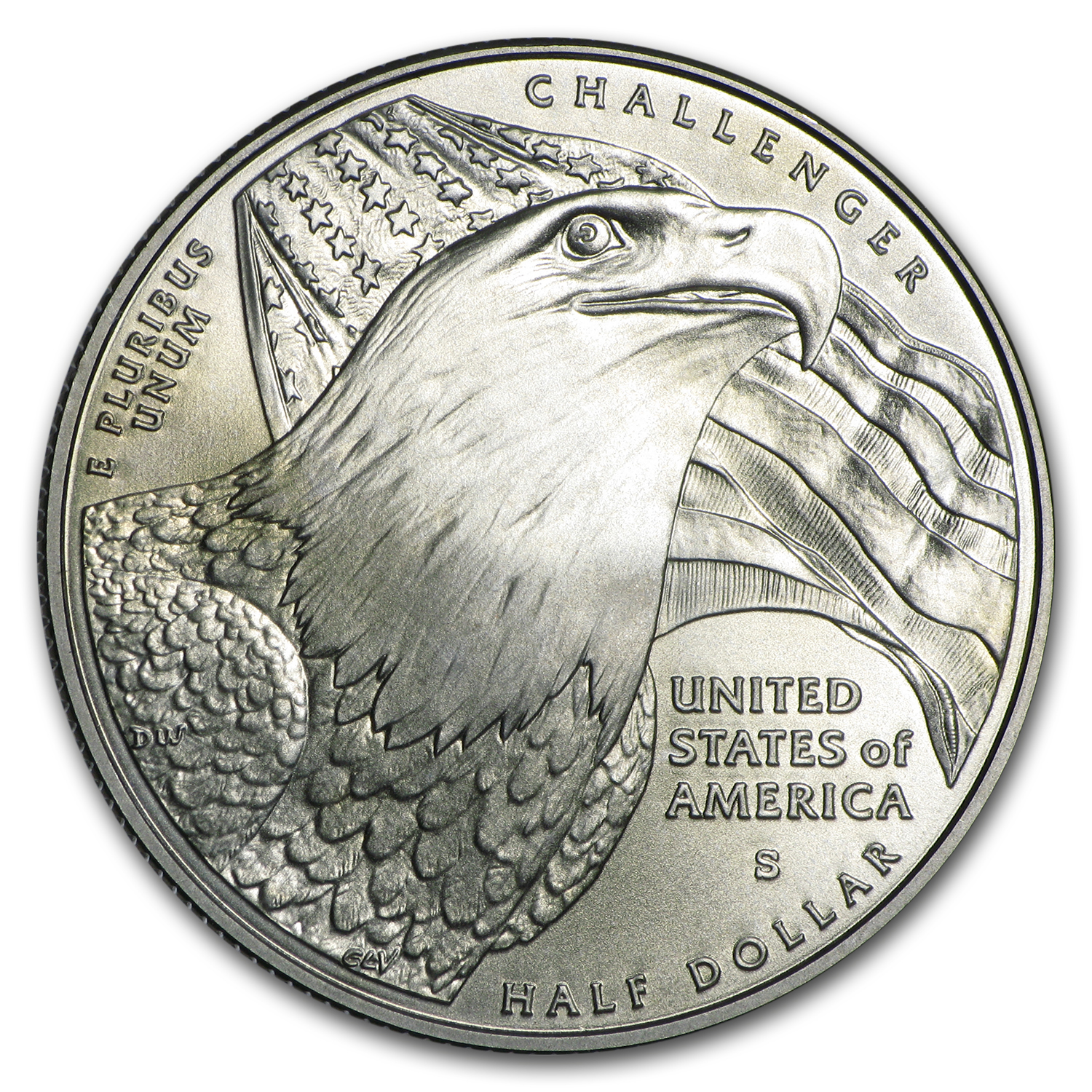 2008-S Bald Eagle 1/2 Dollar Clad Commem BU (w/Box & COA)
