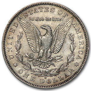 1892-S Morgan Dollar XF-45 Details (VAM-2, Doubled Date, Cleaned)