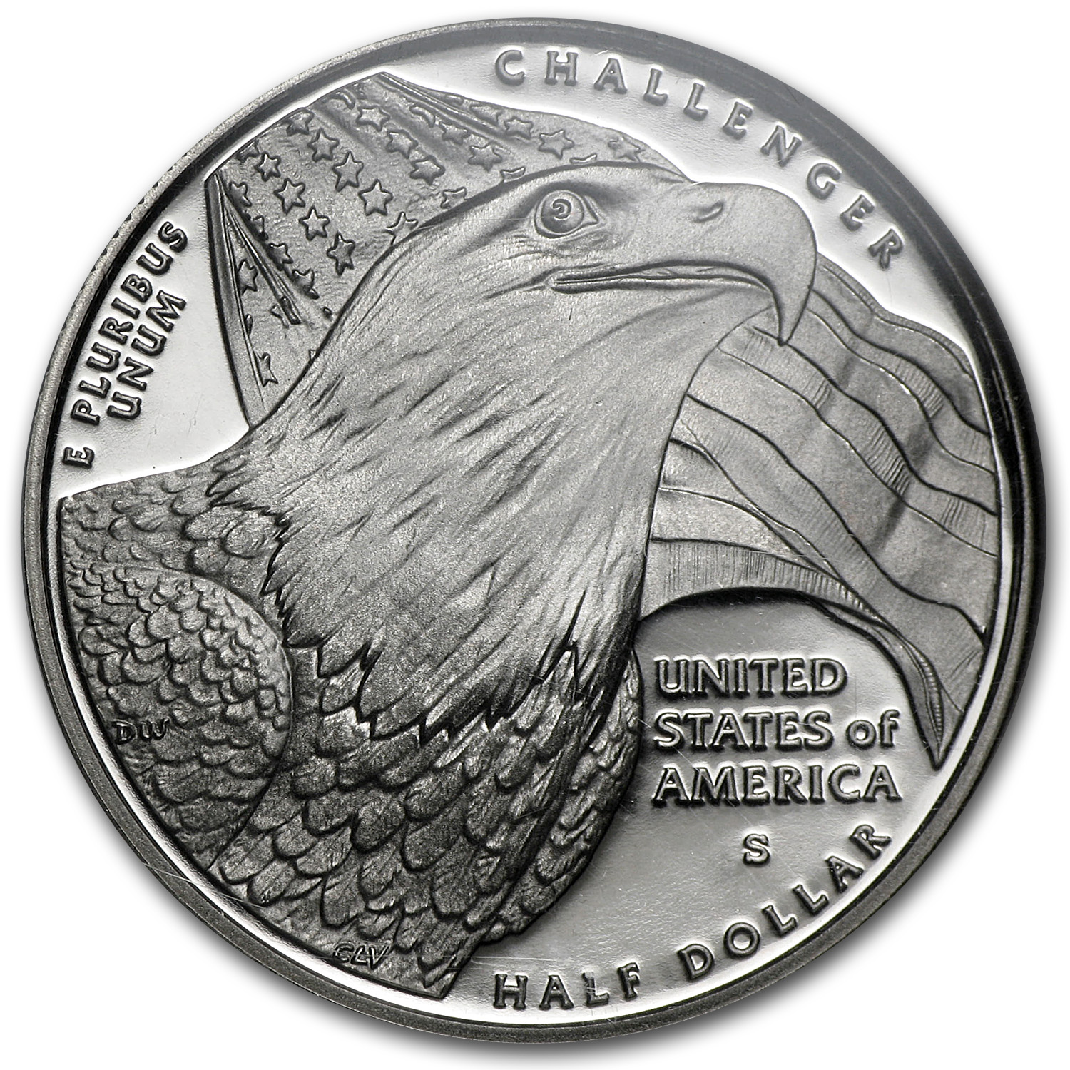 2008-S Bald Eagle Half Dollar Clad Commem PF-70 UCAM NGC