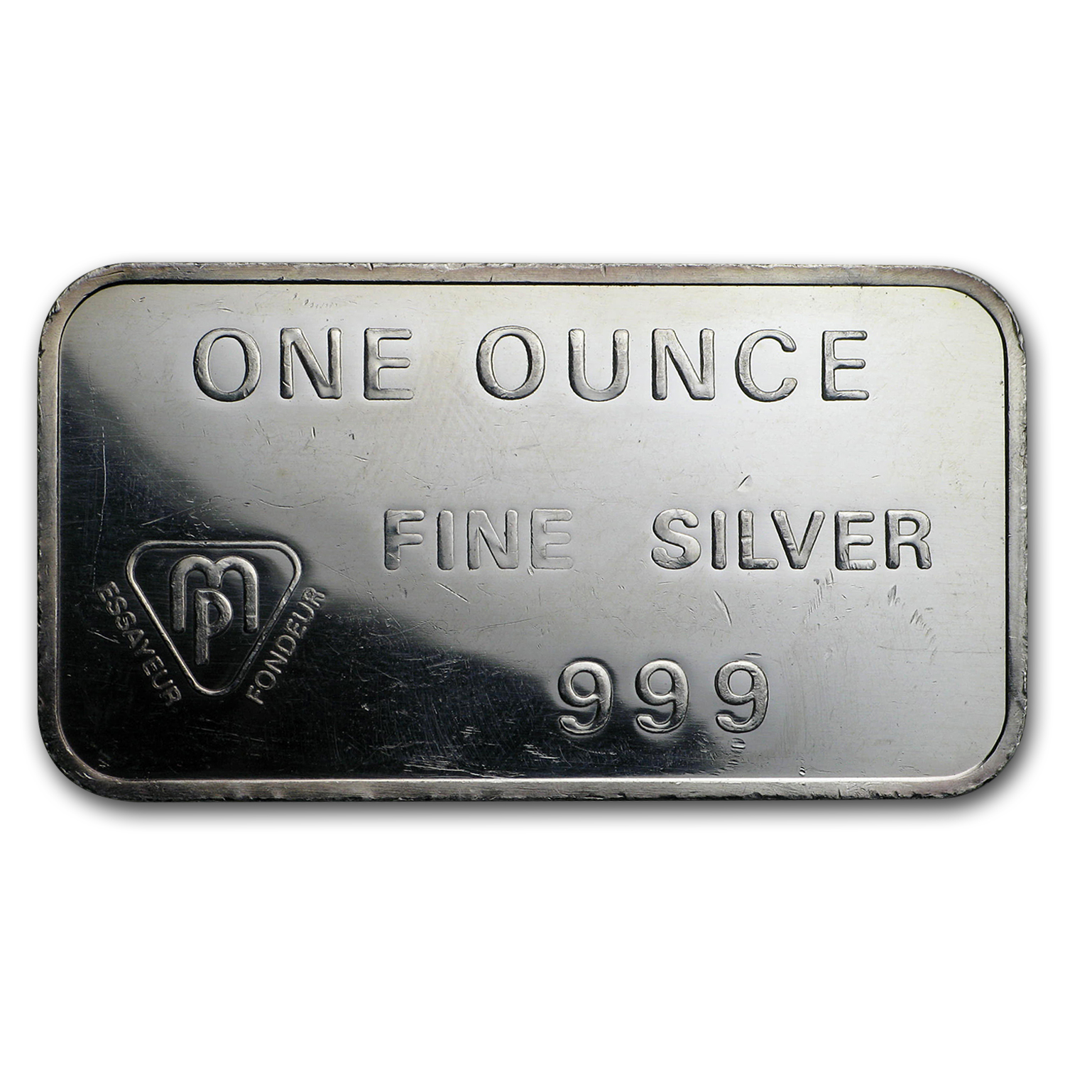 1 oz Silver Bar - Swiss Bank Corporation