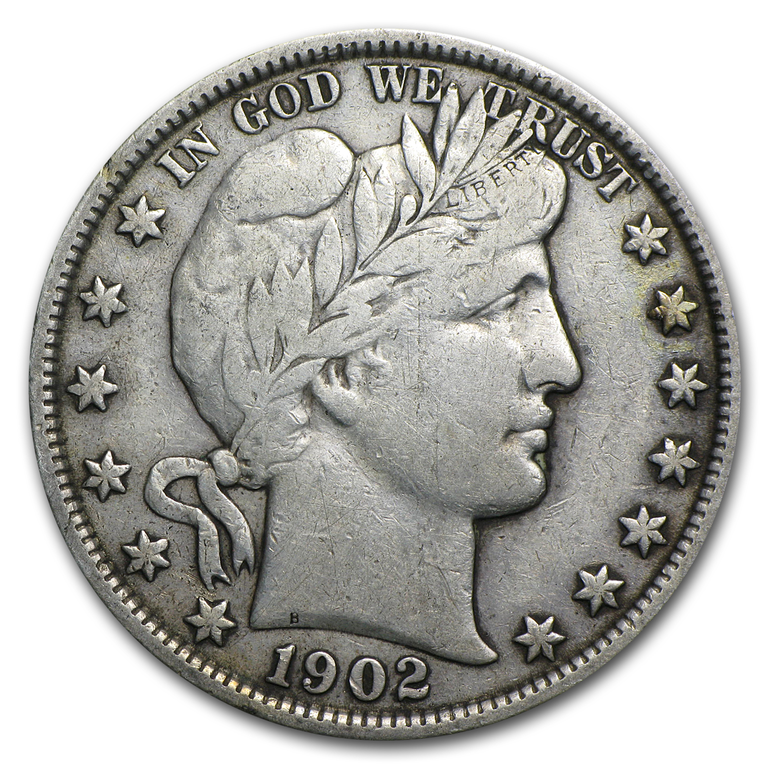 1902 Barber Half Dollar Vf Barber Half Dollars 1892