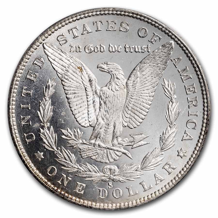 1880-S Morgan Dollar MS-64 DMPL PCGS