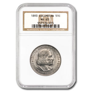 1893 Columbian Expo Half Dollar MS-63 NGC