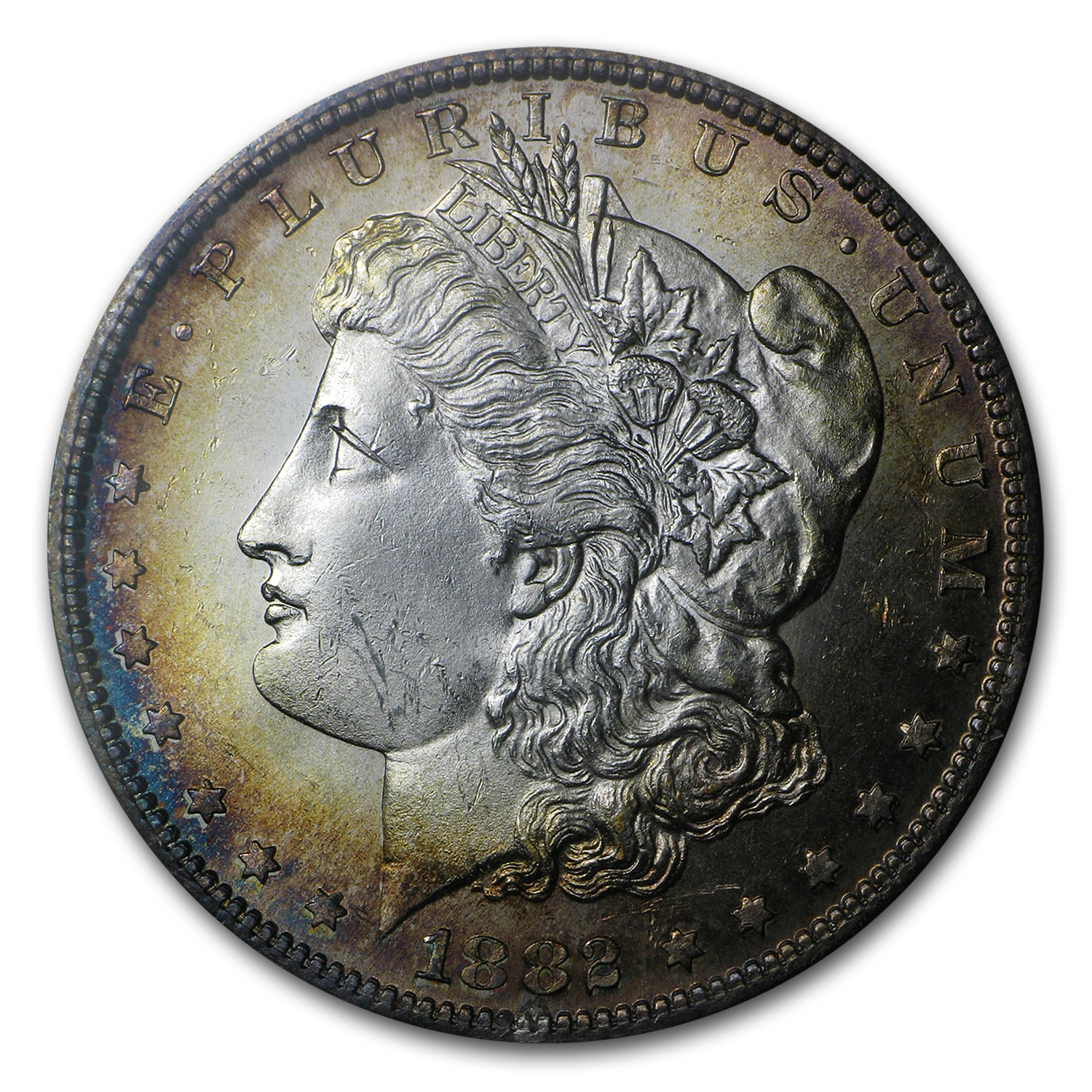1882-S Morgan Dollar MS-65 (Redfield Hoard)