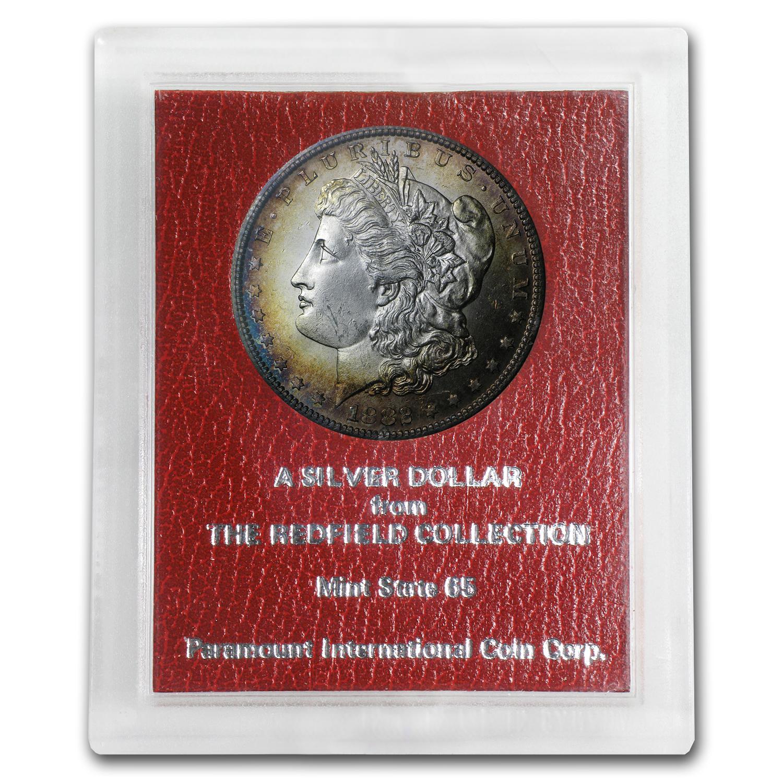1882 S Morgan Dollar Ms 65 Redfield Hoard Morgan