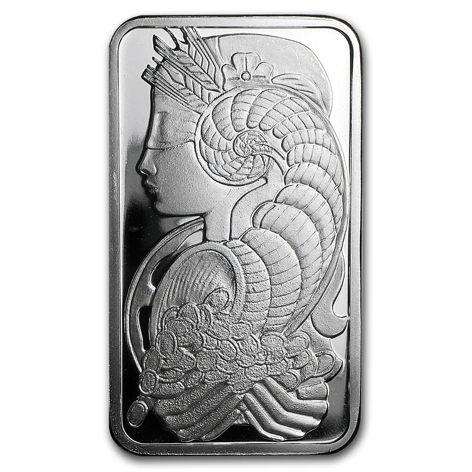 1 oz Silver Bar - PAMP Suisse Fortuna (No COA/Assay)