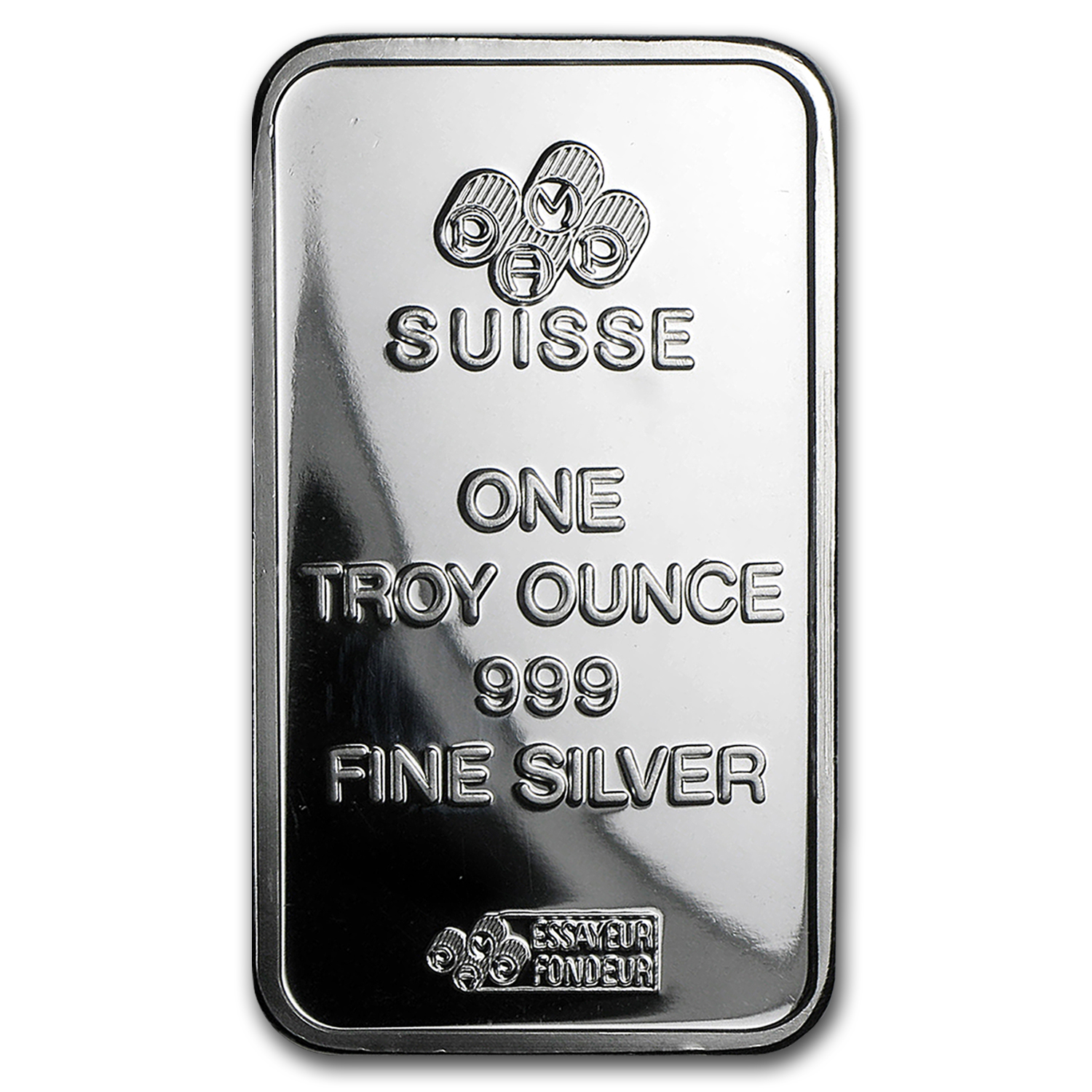 1 oz Silver Bar - Pamp Suisse (Fortuna/No COA)